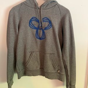 TNA grey and blue hoodie